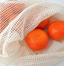 Brot- und Gemüsesäcke