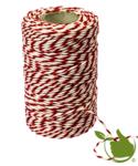 Fleischseil weiße/Rote Baumwolle 100g