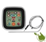 Elektronisches Stiftthermometer mit LCD-Touchscreen.