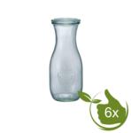6 x Weck SAP fles met deksel (530ml) 1/2L