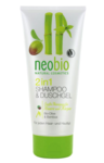 Neobio Douche & shampoo 2 in 1