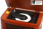 Retro-Radio mit CD-Player und MP3-und Aufnahme-Aufnahme