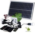 Portable 10w Solaranlage mit Akku