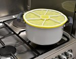 Zitronen Deckel zum stapeln 23cm von Charles Viancin