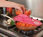 Hibiskus rosa Deckel 20cm von Charles Viancin
