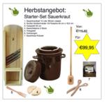 Starter-Set Sauerkraut, 15 Liter (braun classic)