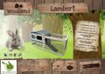 Kaninchenstall Lambert 155x53x70cm