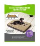 Orthopädisches Hundekissen 100x65x10cm Braun/Beige