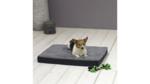 Orthopädisches Hundekissen 79x60x8cm Grau