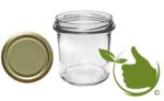 Marmeladengläser 346 ml mit twist-off deckel gold