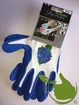 Gartenpflegehandschuh blau mt.8 (uni)