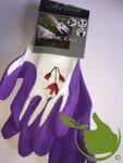 Gartenpflegehandschuh lila mt.8 (uni)