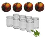 Marmeladengläser 500 ml mit twist-off deckel (Obst klassisch) pro 8 Stück
