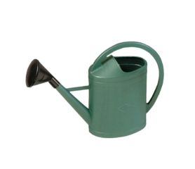Gießkanne mit Sprühkopf 11 Liter grün