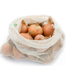 Obst- und Gemüsegitter 100% Baumwolle - Groß (Bio)