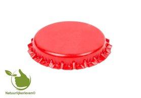 Kronenkork Rot 26 mm (verpackt pro 100 Stück)