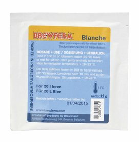 Bierhefe Brewferm Blanche 12 g