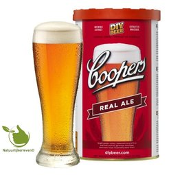 Coopers bier Real Ale
