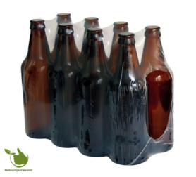 Bierflasche von 0,5 l verpackt pro 8 Stück.