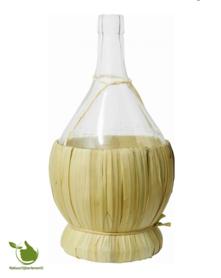 Authentische Weinflasche aus Glas 2 liter