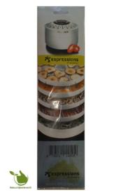 Trockene Matten (5P) für Lebensmitteltrockner EP5600 Espressions.