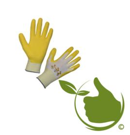Gartenpflegehandschuh gelb mt.8 (uni)