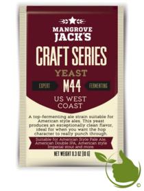 Trocken Bierhefe US West Coast M44 - Mangrove Jack's Craft Series - 10 g