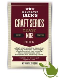 Trocken Bierhefe Cider M02 - Mangrove Jack's Craft Series - 10 g