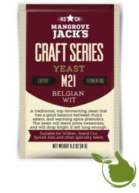 Trocken Bierhefe Belgian Wit M21 - Mangrove Jack's Craft Series - 10 g