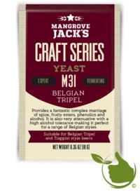 Trocken Bierhefe Belgian Tripel M31 - Mangrove Jack's Craft Series - 10 g
