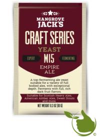 Trocken Bierhefe Empire Ale M15 - Mangrove Jack's Craft Series - 10 g