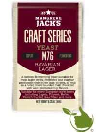 Trocken Bierhefe Bavarian Lager M76 - Mangrove Jack's Craft Series - 10 g