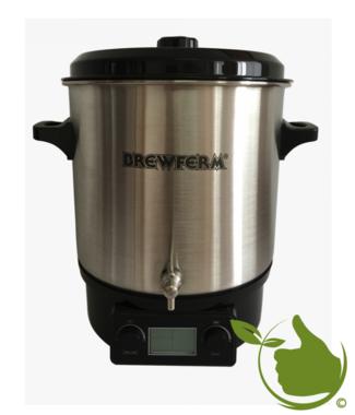Brewferm elektrischer Braukessel Pro 27 l Edelstahl