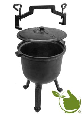 Jagdkessel Gusseisen 7 Liter