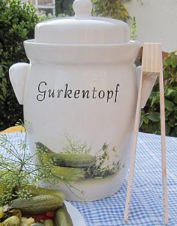 Gurken topf 5 liter