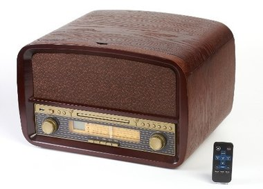 Camry Retro platenspeler + CD/USB/MP3 + Recorder systeem ...