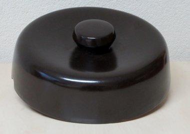 Brauner Deckel für 10 Liter Gärtopf