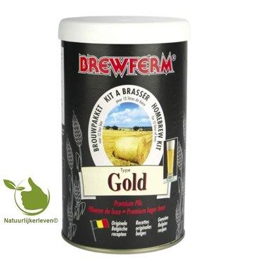 Bierkit Brewferm gold für 12 l