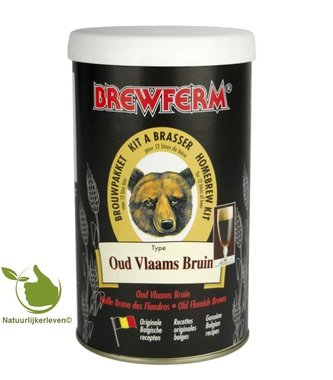Bierkit Brewferm alt Vlamings braun für 12 l