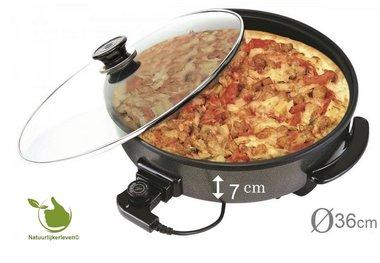 Elektro-Multipfanne Pizzapfanne