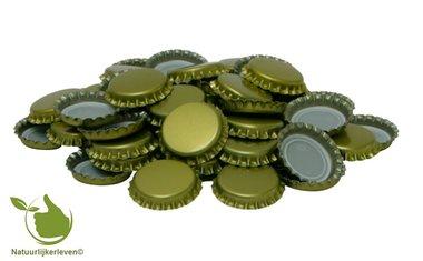 Kronenkork Gold 26 mm (verpackt pro 300 Stück)