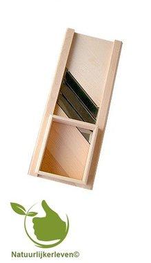 Buche Krautschneider 40 x 15 cm mit Fingerschutzblock