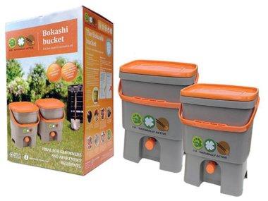 Bokashi Kücheneimer - Komplettset