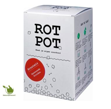 Sauerkraut Fermentation Set - RotPot spannende Kräuter