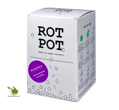 Sauerkraut Fermentation Set - RotPot überraschende Kräuter