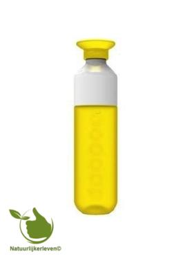 Dopper Wasserflasche hello yellow