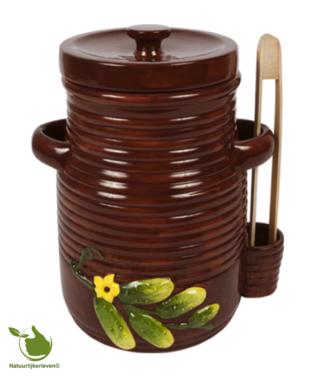 Gurken Topf 3 Liter (braun)