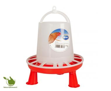 Futter silo hühner mit füße 3KG - 3L