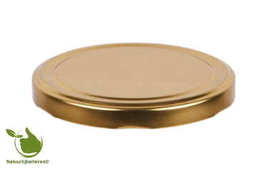 Twist-off Deckel gold 63 mm