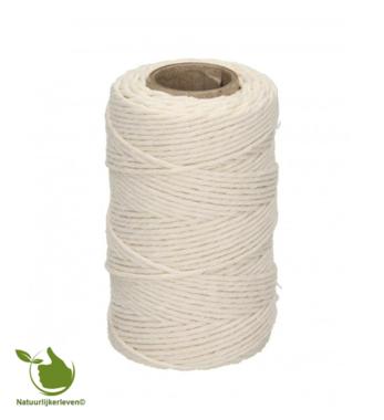 Fleischseil, weiße Baumwolle 100g
